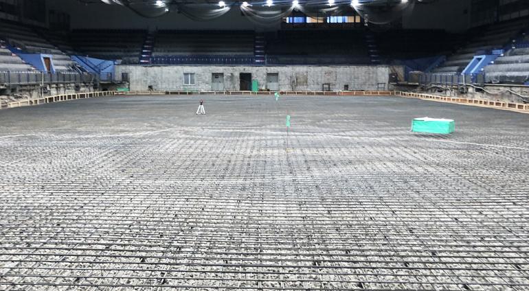 Устройство бетонной стяжки под финишные покрытия